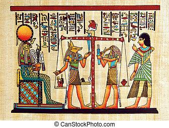 Ägypten Papyrus