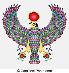 Ägypter Falken-Pectoral