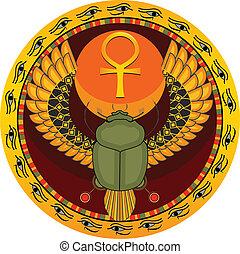 Ägypter heiliger Käfer