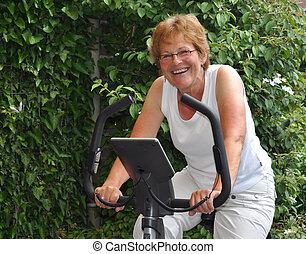 Ältere Frauenausbildung