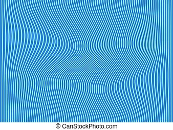 Ändern Sie den blauen Hintergrund mit gebogenen Linien.