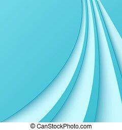 Ändern Sie den blauen Hintergrund mit gebogenen Linien