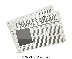 Ändert die Zeitung