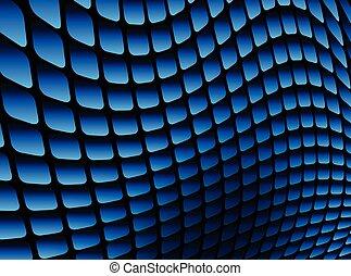 Äußeres Hintergrundblau.
