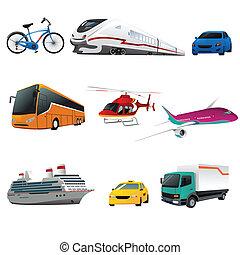 Öffentliche Verkehrsmittel.