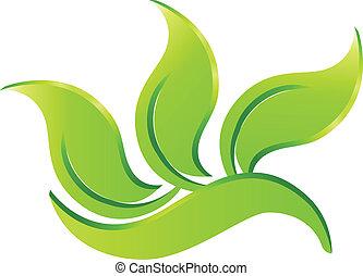 Ökogrünes Logo.