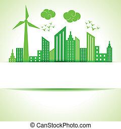 Ökologie-Konzept, Natur retten