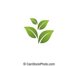 Ökologie-Logo Illustration - Vektor.