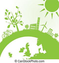 Ökologie und Machthintergrund