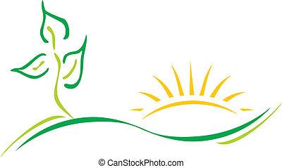 Ökologisches Logo