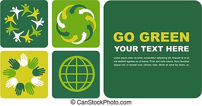 Ökologisches Poster