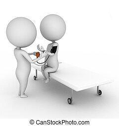 überprüfung, medizin