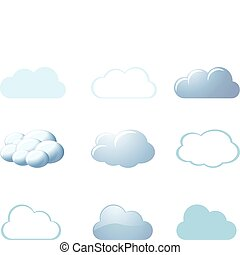 -, wetter, wolkenhimmel, heiligenbilder