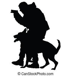1, hund, polizei
