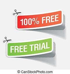 100% kostenlose und kostenlose Prüfzeichen
