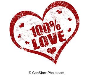 100% Liebesstempel