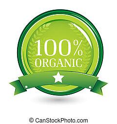 100%, organische