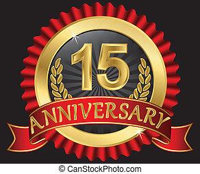 15 Jahre Gold