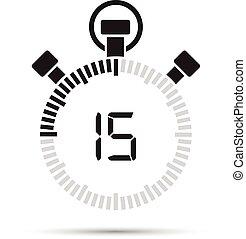 15 Sekunden.