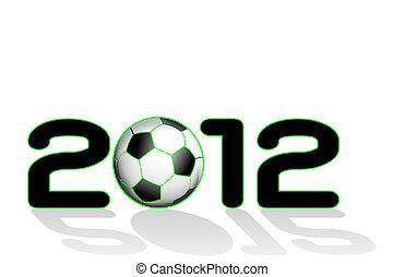 2012 mit Fußball geschrieben