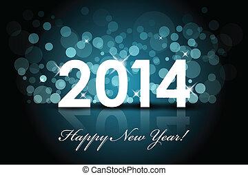 2014 - Frohes neues Jahr.