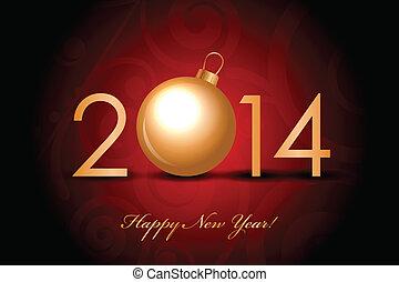 2014 glückliches neues Jahr.