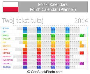 2014er Planer-Kalender