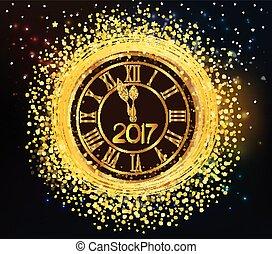 2016 glänzende neue Jahruhr.