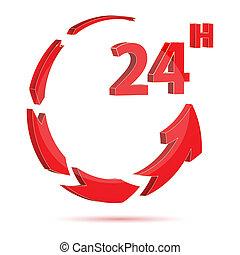 24 Stunden Ikone