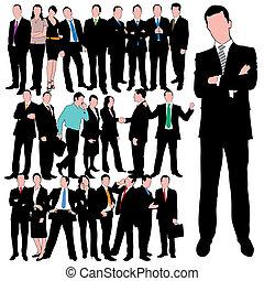 25 Geschäftsleute sind bereit