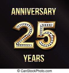 25 Jahre altes Logo.
