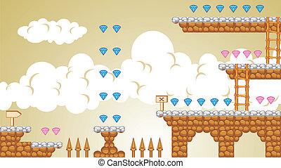 2D-Fliesenplattform-Spiel 4.