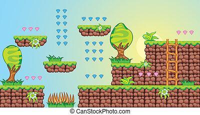 2D-Fliesenplattform-Spiel 7.