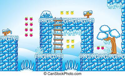 2D Fliesenset Plattform Spiel 10.