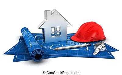 3-D-Hausprojekt