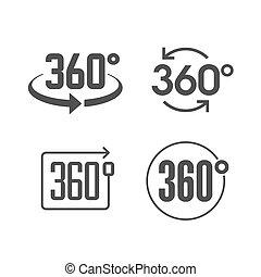360, ansicht, grade