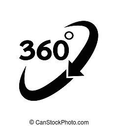 360 Degree Icon.