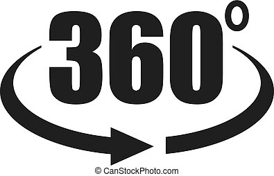 360-Grad-Symbol.