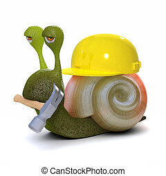 3d Builder Schnecke.