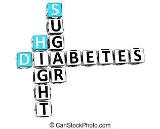 3D-Diabetes Hight Zuckerkreuzwort