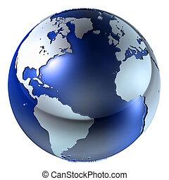 3d Erde