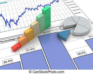 3D Fortschrittsbar beim Finanzbericht