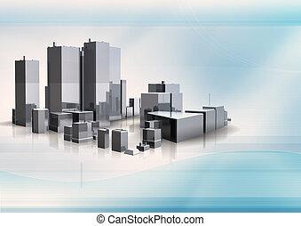 3D Gebäude