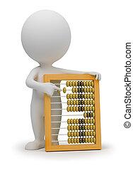 3d kleine Leute - abacus