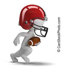 3d kleine Leute - American Football