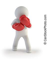 3d kleine Leute - Boxer.
