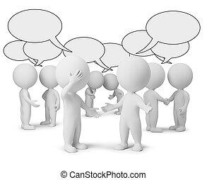 3d kleine Leute - Diskussion