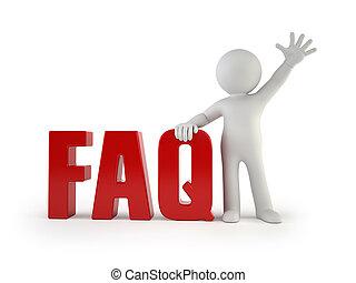 3d kleine Leute - FAQ.