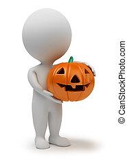 3d kleine Leute - Halloween