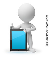 3d kleine Leute - iPad